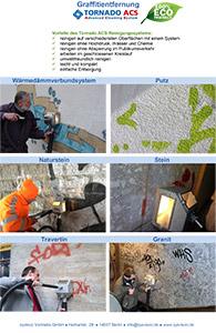 Graffiti Tornado-Flyer-Graffitientfernung