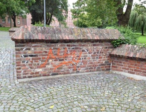 Graffiti Entfernen beim Landes Verband Rheinland