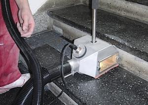 Terazzotreppe mit Vakuumverfahren