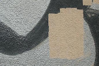 Graffitireinigung Putz