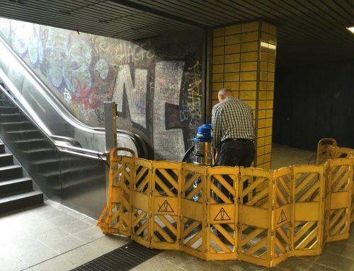 Graffittornado in Köln Hans-Böcklerplatz