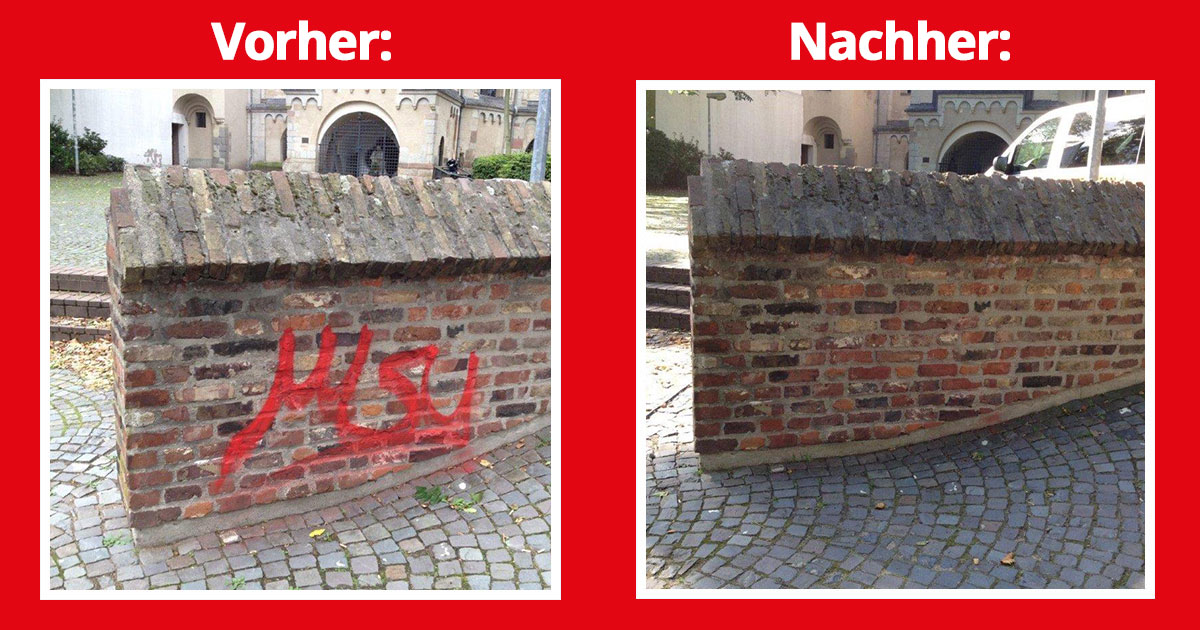 Graffiti entfernen im Denkmalschutz