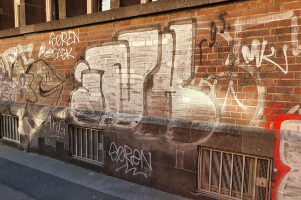 Graffiti entfernen in Bergisch Gladbach